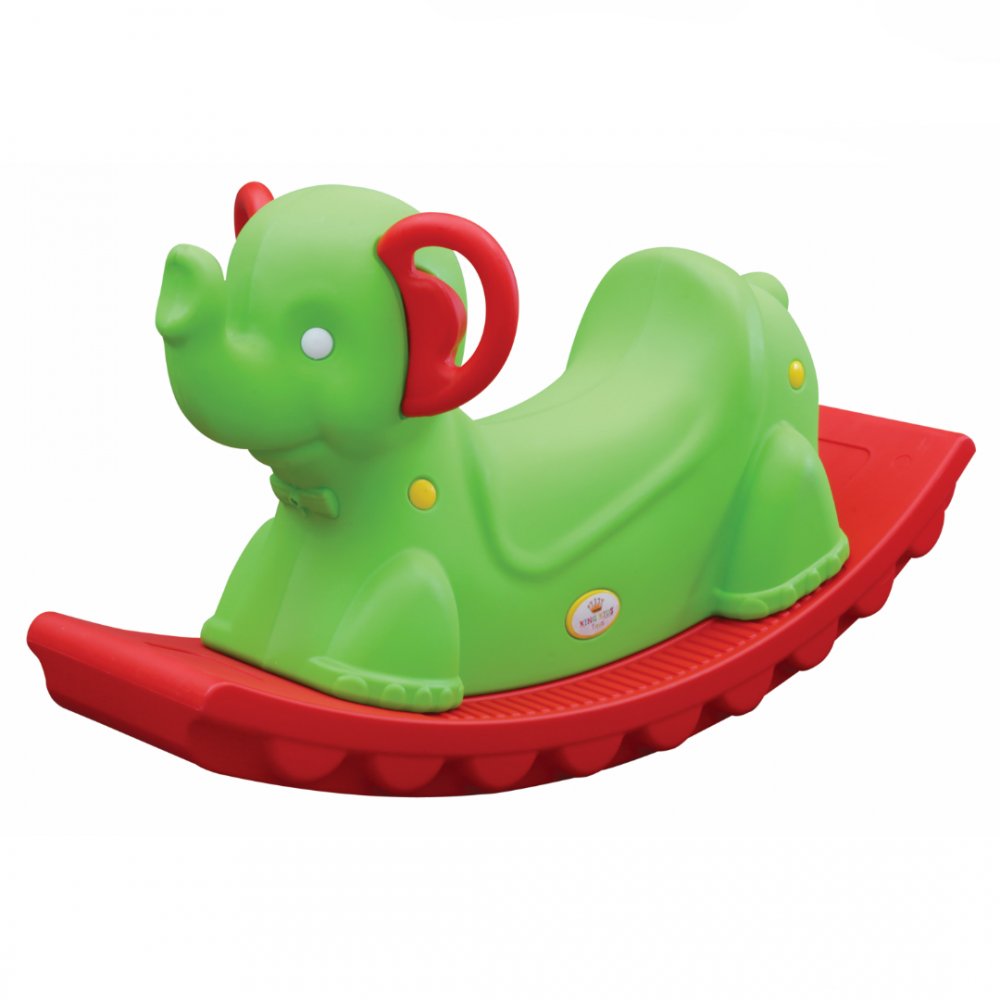 Κουνιστό Ελεφαντάκι Πράσινο-Κόκκινο  KKRE-9050-G