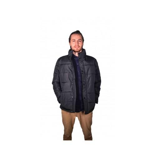 Ανδρικό μπουφάν Αδιάβροχο, Μαύρο, MJACKET-002