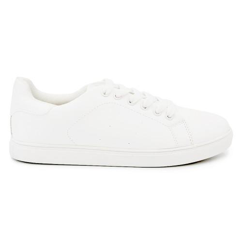 Γυναικείο Sneakers Παπούτσι, Λευκό, SN-008