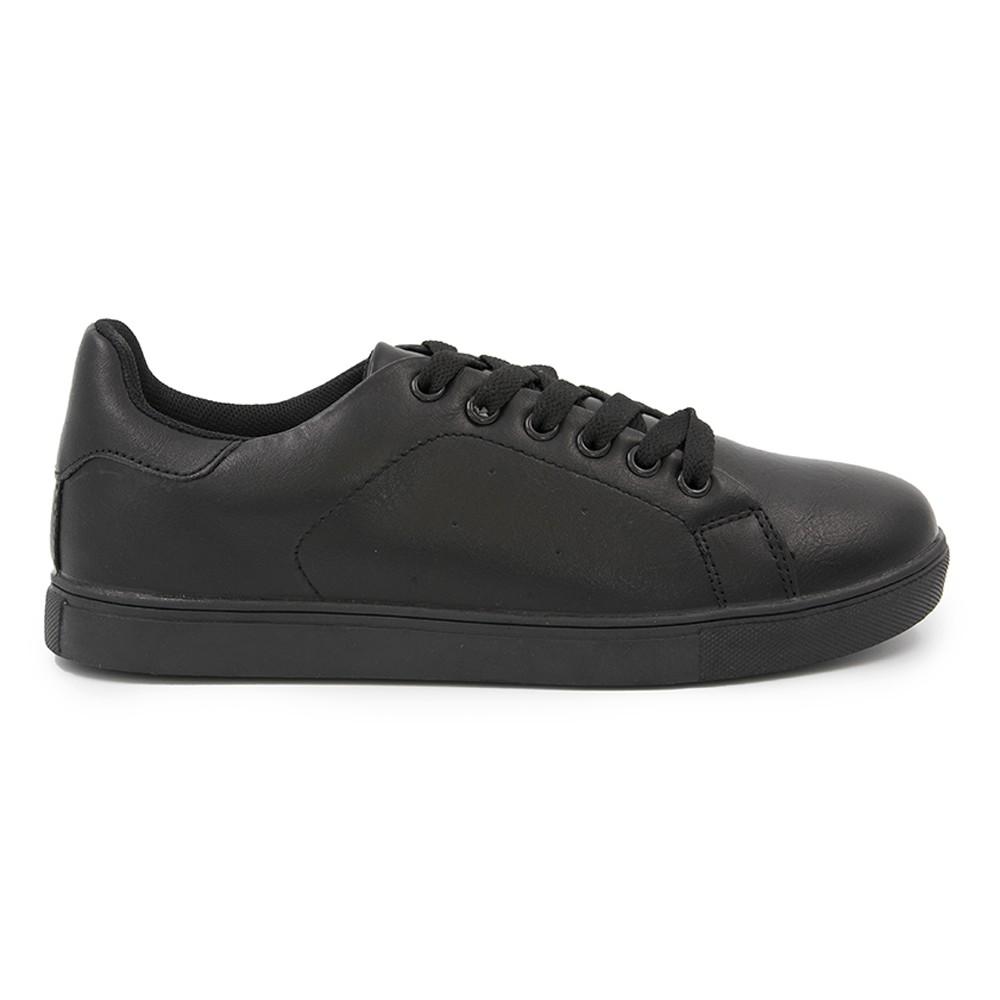 Γυναικείο Sneakers Παπούτσι, Μαύρο, SN-003